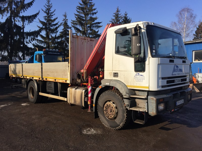 IVECO s hydraulickou rukou